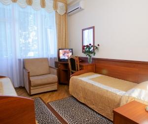 ПРИМОРСКИЙ КОРПУС - Стандарт 1 комнатный  2-х местный 4-5 этаж (1 доп.место)